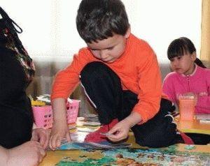 игра с аутичным ребенком