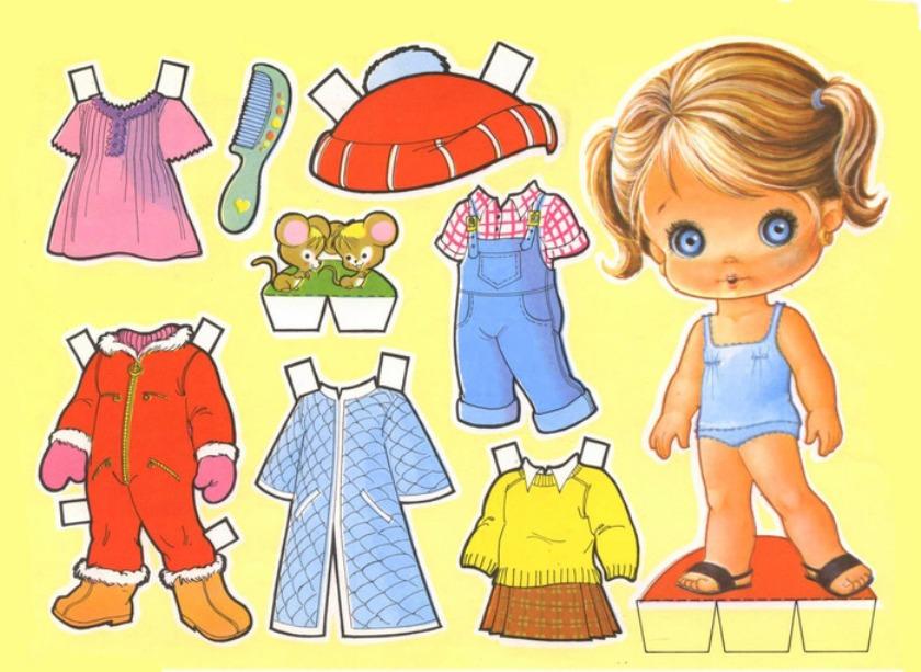 куклы с одежками-2