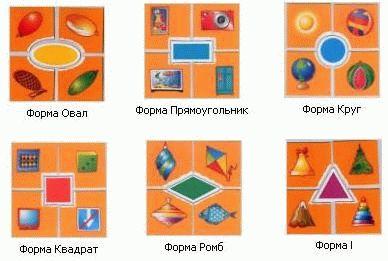 """Картинки """"Формы"""""""