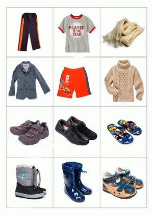 Картинки для детей: погода что одеть