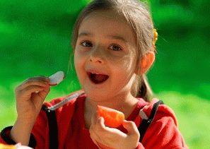 Ввод овощей и фруктов в рацион аутичного ребенка