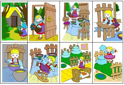 Картинки по сюжету сказки 3 медведя
